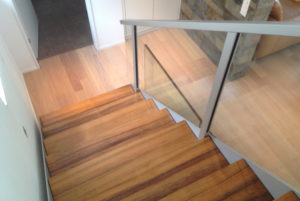 Wood stair Insensation