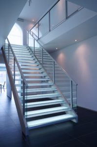 Glass stair Insensation