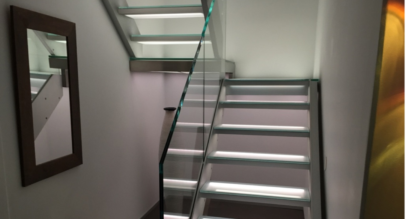 STAIRPLANE® Revolutionary Staircase Design | Glass Stairs | Metal Stairs |  Aluminum Stairs | Design Stairs | Glass Railings | New York | Los Angeles |  Miami ...