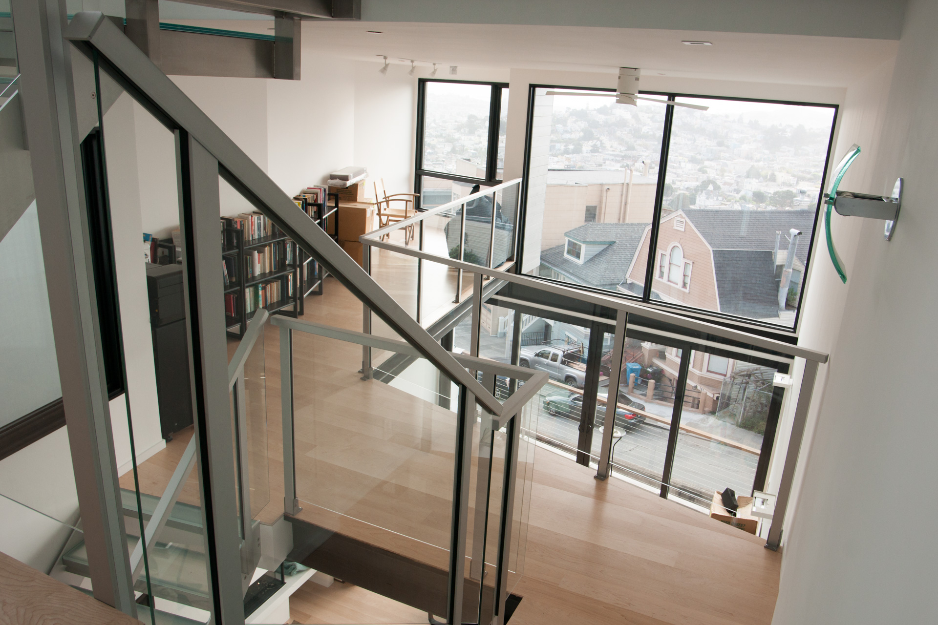 | STAIRPLANE® Revolutionary Staircase Design | Glass Stairs | Metal Stairs  | Aluminum Stairs | Design Stairs | Glass Railings | New York | Los Angeles  ...